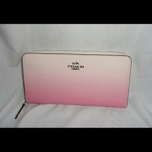 NWT Coach Ombré Leather Wallet